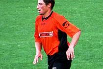 Fotbalista Kyjova Michal Spáčil do úterý pomáhal na Liberecku lidem postiženým nedávnými záplavami.