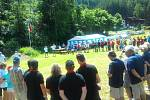 Hodonínští sokolové se zúčastnili vzpomínkového srazu k uctění památky zakladatele organizace Miroslava Tyrše u rakouského Oetzu.
