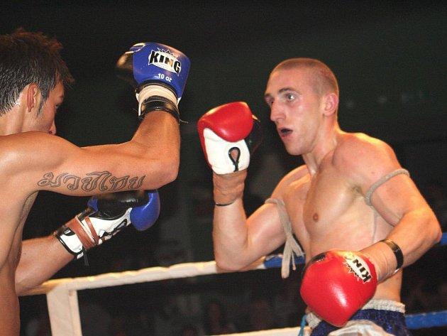 Interkontinentální šampion Jakub Steidl (vpravo).
