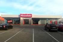 Nová prodejna Mountfieldu vHodoníně.