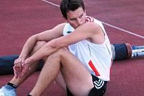 Čejkovický tyčkař Jarosav Chlebík překonal na závodě v Břeclavi pětimetrovou hranici.