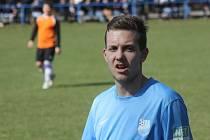 Uhřický útočník Jakub Neumann (na snímku) se v zápase proti Miloticím střelecky neprosadil.