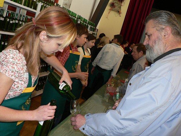 Přes 900 vzorků bílých i červených odrůdových vín ochutnávaly v Mikulčicích stovky návštěvníků z Podluží
