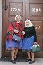 Nejstarší obyvatelka Dolních Bojanovic na Hodonínsku, sedmadevadesátiletá Růžena Komosná, šla k volbám automaticky. Volí pravidelně.