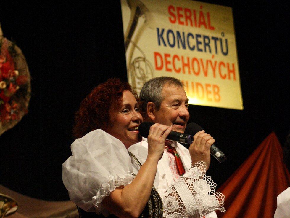 Šohajka zahájila sedmadvacátý ročník seriálu koncertů dechových hudeb v Hodoníně.