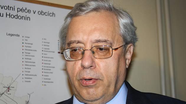 Lékař a bývalý ředitel Nemocnice Kyjov a Úrazové nemocnice v Brně Petr Svoboda.