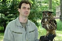 Ředitel hodonínské zoo Martin Krug nastoupil do funkce 1. května 2012.