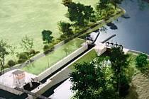 Baťův kanál propojí s přístavem v Hodoníně do pěti let nová plavební komora.