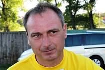 Zkušený trenér Petr Zemánek dovedl fotbalisty Mutěnic až do divize.