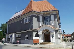 Budova Galerie výtvarného umění v Hodoníně.