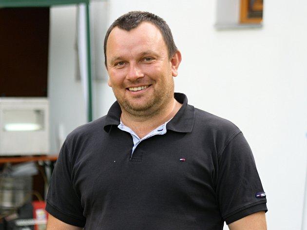 Zkušený útočník Strážnice Marek Popelka (na snímku) v sedmatřiceti letech ukončil aktivní kariéru.