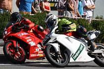 V Kyjově se už podeváté uskutečnil oblíbený závod motorek. Letos se na Slovácku poprvé představili jezdci v nové kubatuře Supertwin, která do České republiky dorazila z Irska.