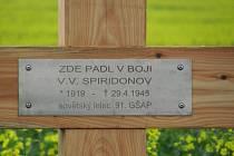 Odhalení pamětní desky sestřeleného ruského pilota se dočkají v Hošticích-Herolticích.