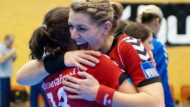 Třicetiletá házenkářka Jitka Tomečková získala s Veselím nad Moravou dva české tituly.