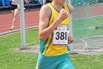Běžec AK Hodonín Filip Sasínek.