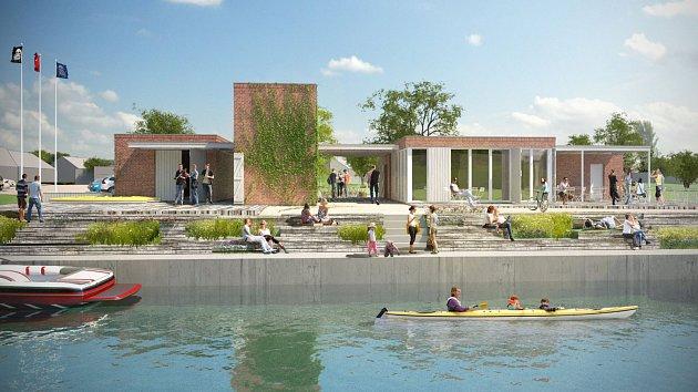 Plánovaná modernizace počítá s rozšířením zázemí na břehu i s prostory pro dospělé návštěvníky a děti.