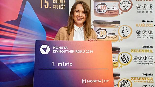 Kateřina Gazdačko, sestra a spolupracovnice vítězné živnostnice Lenky Vlasákové.