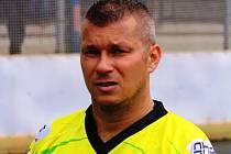 Zkušený sudoměřický útočník Tibor Kosík se proti Kovu Praha střelecky neprosadil.