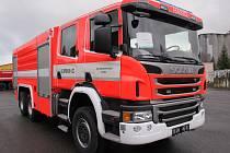 Podobně jako auto na snímku by mohl vypadat nový stroj zásahové jednotky násedlovických hasičů. Obdrží jej v polovině příštího roku.