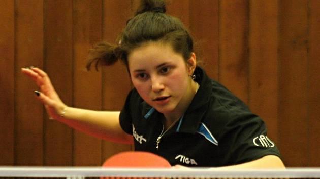 Mladá Ukrajinka Solomiya Brateyko pomohla béčku Hodonínu v ženské extralize k postupu do čtvrtfinále play-off.