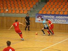 Hodonínští futsalisté si neudrželi dvoubrankový náskok, který poměrně laciným způsobem ztratili.