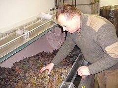 O výrobu vína od práce ve vinici až po lahvování se stará Dušan Soviš z Blatnice pod Svatým Antonínkem. Při práci používá osvědčené postupy v kombinaci s moderním přístupem.