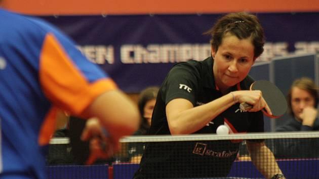 Stolní tenistka Renáta Štrbíková si po příchodu do Hodonína pochvaluje výbornou atmosféru v klubu.
