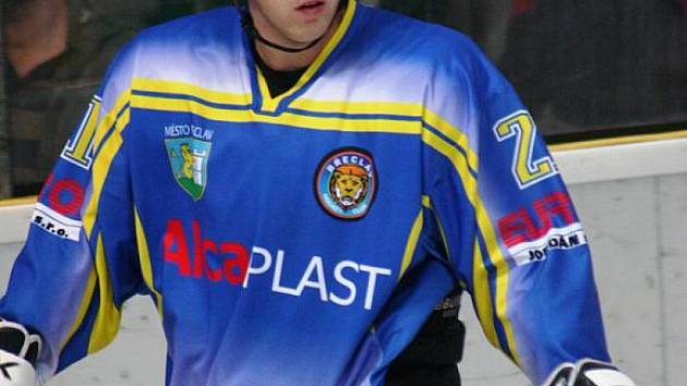 Hokejový útočník Roman Barták.