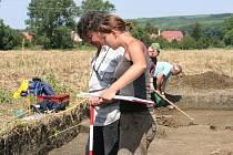 Archeologický výzkuv u Hrubé Vrbky