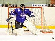 2. liga: SHK Hodonín (v modrém) vs. Lvi Břeclav
