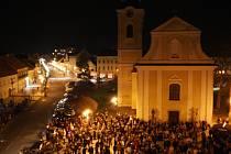 Masarykovo náměstí v Hodoníně. Ilustrační foto.