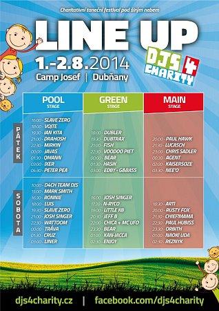 Program festivalu.