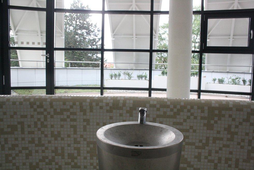 Nové Denní lázně v Hodoníně.