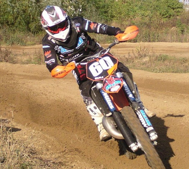Ždánická motokrosařska Jana Bártová