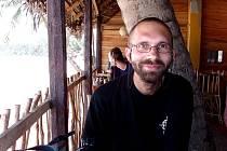 Dokumentarista a cestovatel Tomáš Kubák.
