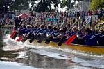 Hodonínské drakobití, letos již 7. ročník závodů dračích lodí