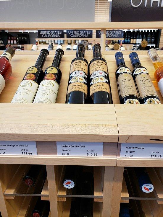Víno a vinná réva, ilustrační foto