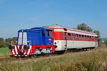 Máňa má za sebou šestnáct jízd. Tou sedmnáctou možná uzavře železniční dopravu dvou lokálních tras na Hodonínsku. Je totiž možné, že se v nejbližší době zruší.