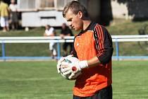 Bzenecký brankář Dalibor Zeman pomohl svým spoluhráčům k cennému bodu. Slovan remizoval v Bohunicích 1:1.