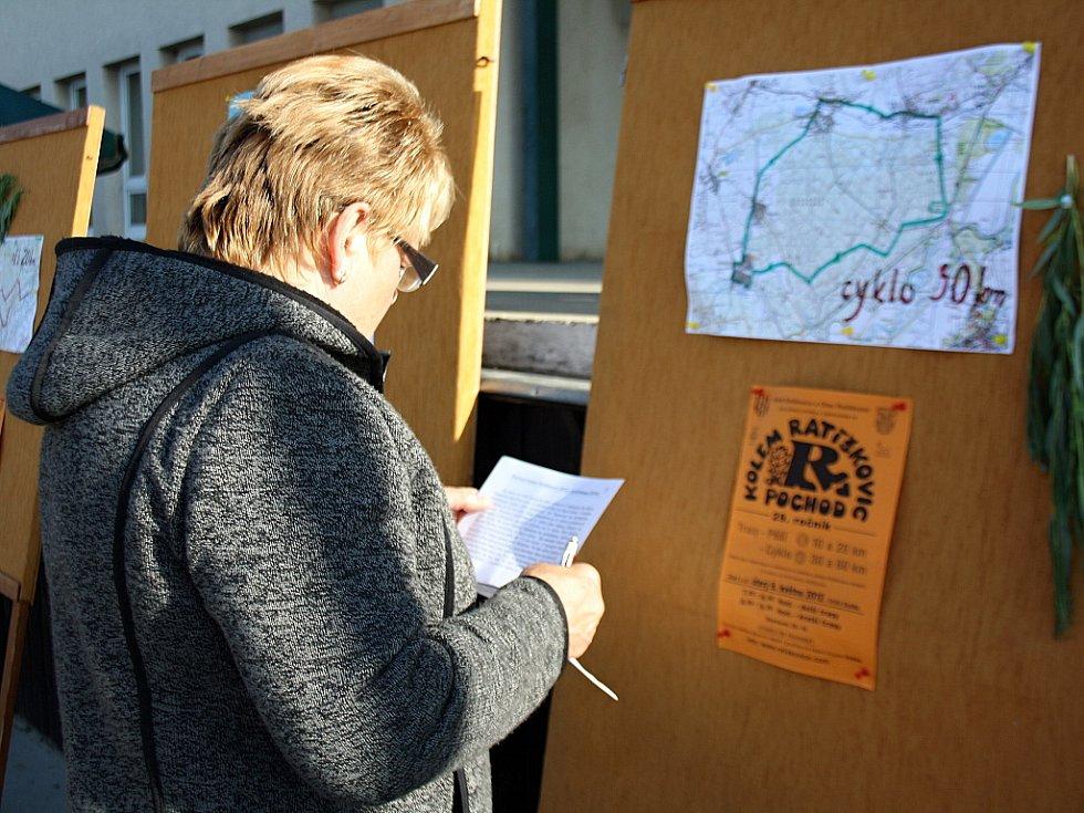 29. ročník Pochodu kolem Ratíškovic si nenechaly ujít stovky turistů a cyklistů.