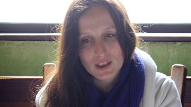 Eva Michaláková v Hodoníně.