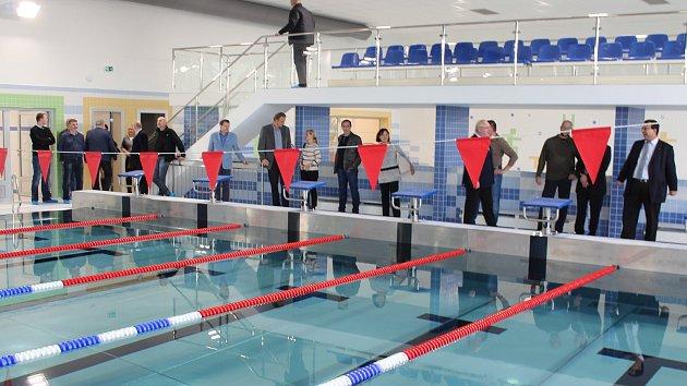Hodonín představil krytý plavecký bazén