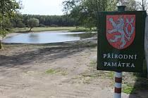 Přírodní památka Jezero ve Vacenovicích.