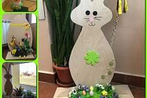 V Dětském domově v Hodoníně o Velikonocích vládla sváteční nálada. I díky výzdobě.