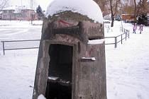 Pozorovatelský bunkr v Ratíškovicích u Jezérka.