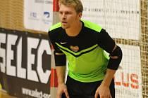 Hodonínský brankář Michal Lupač si v Plzni připsal premiéru v nejvyšší české futsalové soutěži. Porážce Tanga ale nezabránil.
