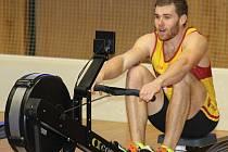 Břeclavský odchovanec Lukáš Helešic na mezinárodním mistrovství republiky v jízdě na veslařském trenažéru neuspěl, když závod na dva kilometry nečekaně vzdal.
