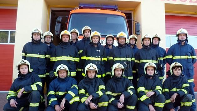 Jednotka sboru dobrovolných hasičů ze Strážnice.