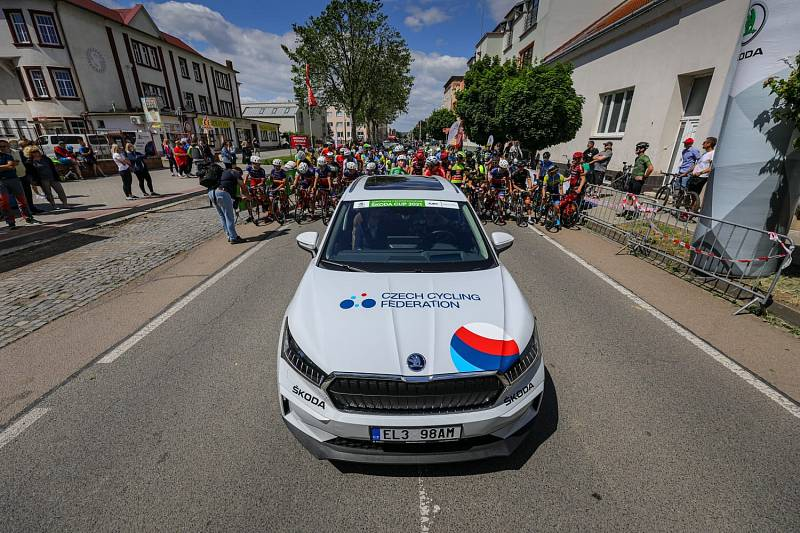 Cyklistický závod v okolí Kyjova ovládl Richard Habermann.