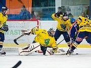 Drtiči excelovali. Sobotní duel s Novým Jičínem byl v jasné režii domácích hokejistů.